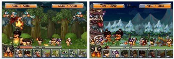 Ancient War - Spiel für iPhone und iPod Touch - Screenshots