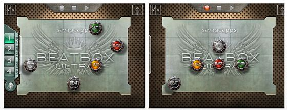Beatbox Ultra iPad Screenshots