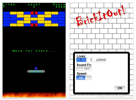 BrickitOut Screenshot