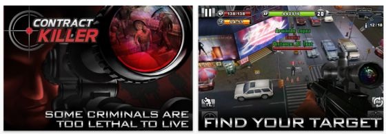 Contract Killer Universal-App von Glu für iphone iPod Touch und iPad Screenshots