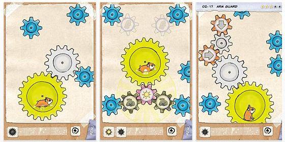 Geared 2 Puzzle-App für iPhone, iPod Touch und iPad
