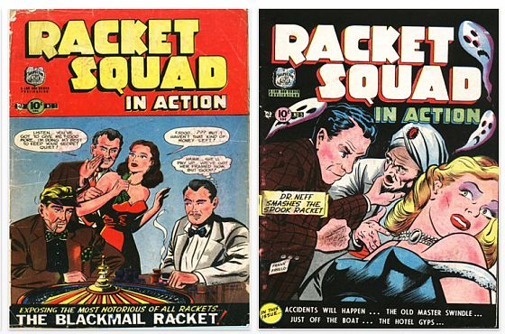 Racket Squad Titelbilder iPad App