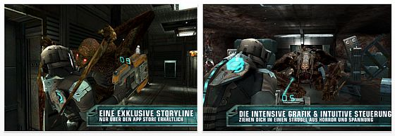 Dead Space - App von Electronic Arts  für Apple iPhone und iPod Touch - Screenshot