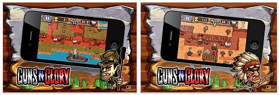 Gund'n'Glory Universal-App für iPhone, iPad und iPhone Touch - Screenshots