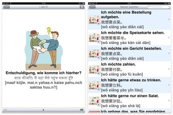 Jourist Weltübersetzer iPad Screenshots