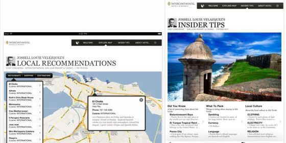 Concierge Insider Guide für das iPad Screenshot