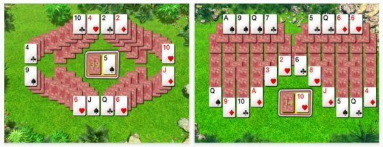 Summer Solitaire for iPad