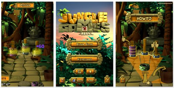 Jungle Games für iPhone und iPod Touch Screenshot
