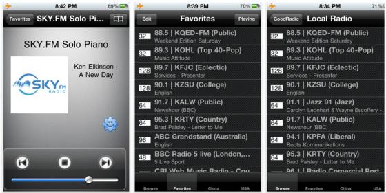 GoodRadio Screenshot