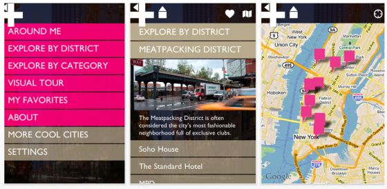 Cool New York - Cityguide für New York für iPhone, iPod Touch und iPad