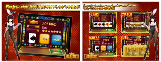 Gold Crown Video Poker für das iPad