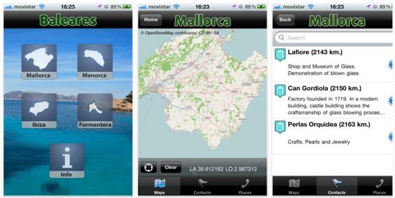 Baleares Offline Maps Screenshots