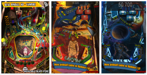 Theme Park Pinball Screenshots