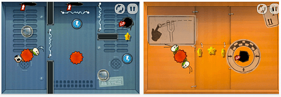 Jump Out! iPhone-Spiel Screenshots