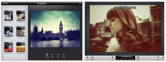 Snapseed für iPhone und iPad Screenshot