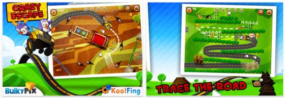 Crazy Escape iPhone und iPad-App Screenshots