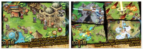 Exitium: Saviors of Vardonia Screenshots