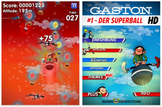 Gaston #1 - der Superball Screenshots