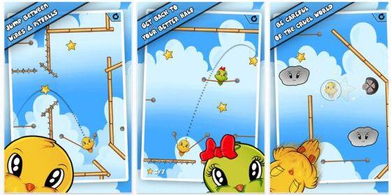 Jump Birdy Jump für iPhone und iPad - Screenshot