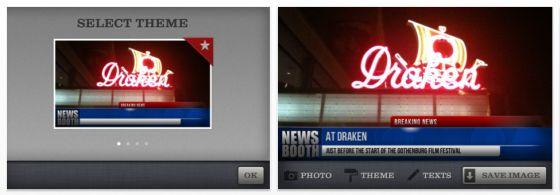News Booth iPhone-App Screenshot