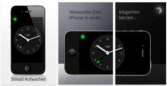 Wecker_one_touch_Screen