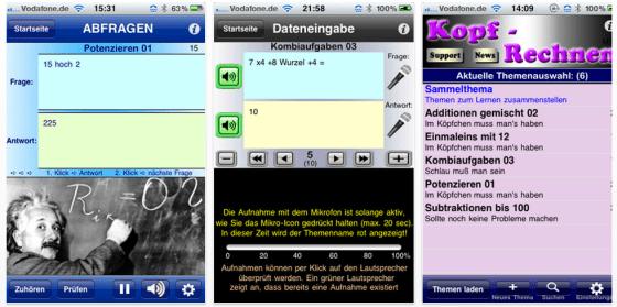 Mathe Genie für iPhone und iPod Touch