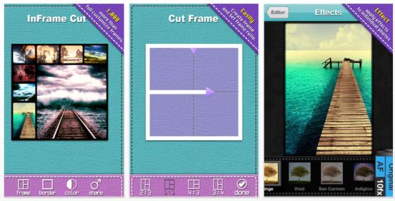 Inframe Cut für iPhone
