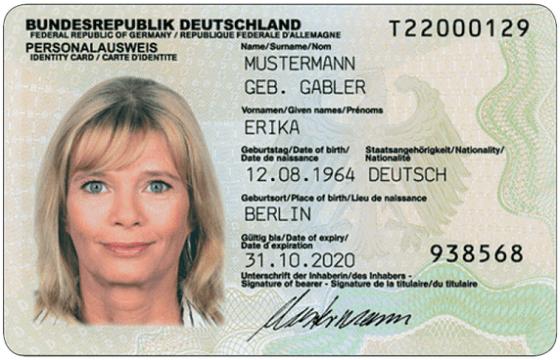 Bundespersonalausweis