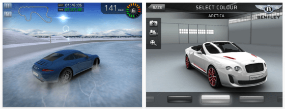 Sports Car Challenge Screenshots der Universal-App