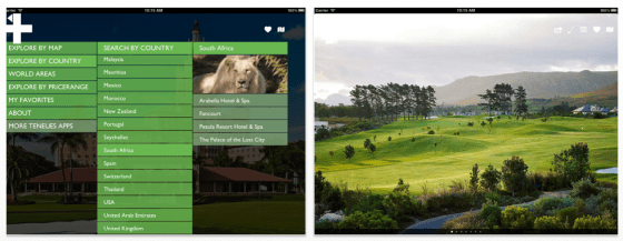Golf Resorts für iPad und iPhone