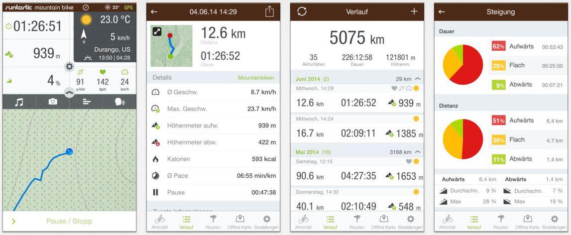 fahrradcomputer app kostenlos