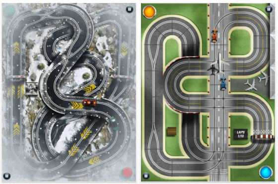 Slot Racing HD für iPad - Screenshots