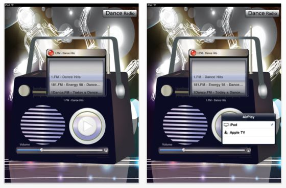 Dance Radio Screenshot