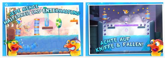 Shark Dash von Gameloft für iPhone, iPod Touch und iPad