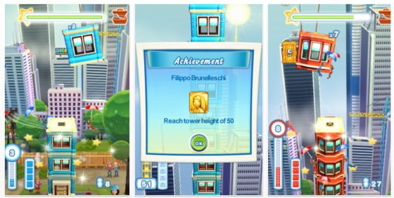Tower Bloxx Deluxe für iPhone und iPod Touch Screenshots