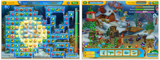 Fishdom: frosty Splash Screenshots