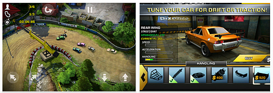 REckless Racing 2 für iPhone und iPad - Screenshots