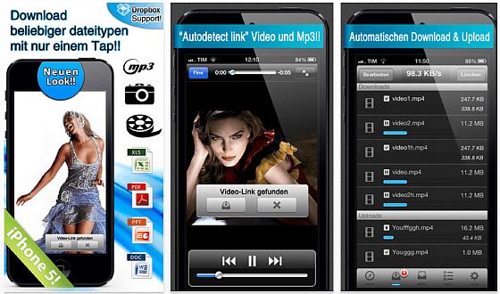 Amerigo Browser und Downloader für iPhone und iPad