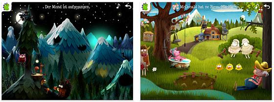 Kleiner Fuchs Kinderlieder Screenshots
