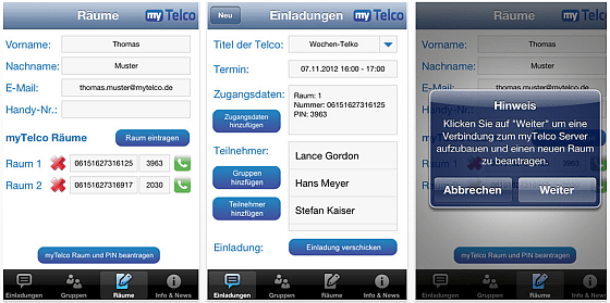 myTelco Screenshots