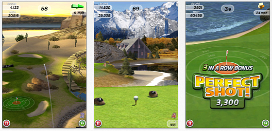 Flick Golf Screenshots