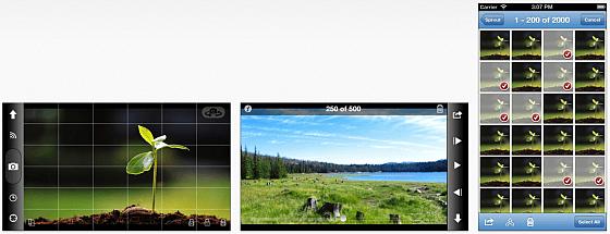 Mit OSnap! machst Du aus Einzelbildern einen Zeitraffer-Film. ETwas blöd ist, dass man zum Bilder-Importieren noch einen In-App Kauf tätigen muss.