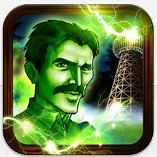 Tesla's Electric Mist Icon