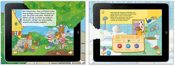 Kuckuck - da bin ich! Screenshots iPad