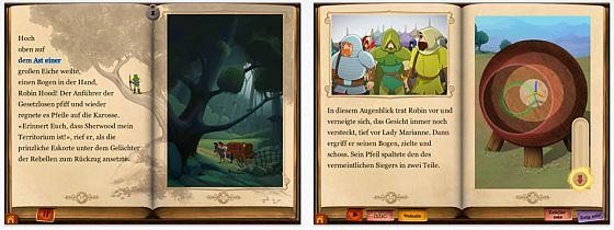 Robin Hoods Abenteuer App für iPhone, iPod Touch und iPad Screenshots