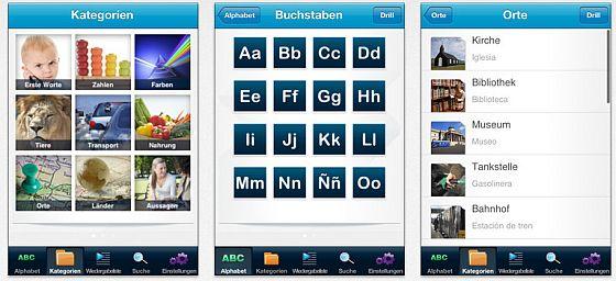 Lerne Spanisch mit easyLang Pro Screenshots