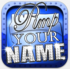 Pimp your Name Icon