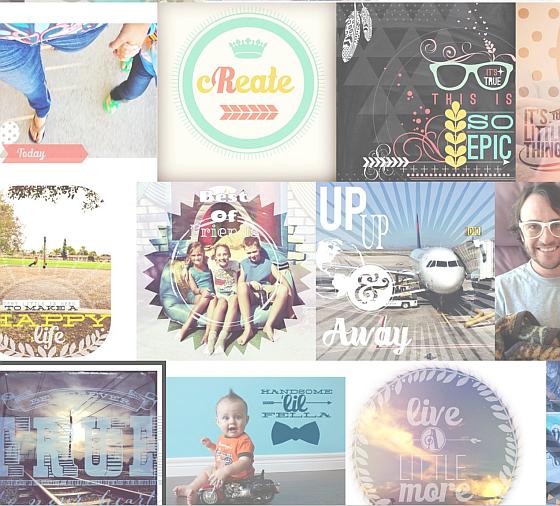 Hier siehst Du ein paar Beispiele von Bildern, die Nutzer auf Instagram veröffentlicht haben. Alle wurden mit Rhonna Designs erstellt.