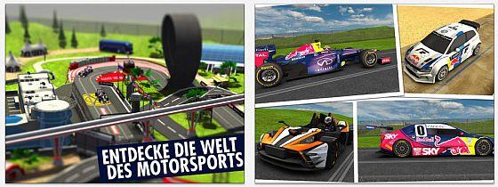 Red Bull Racers Screens
