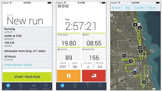iSmoothRun Pro arbeitet mit allen gängigen Sensoren, zä-hlt Deine Schritte, trackt GPS-Daten und liefert Dir viele Auswertungen Deiner sportlichen Aktivitäten.